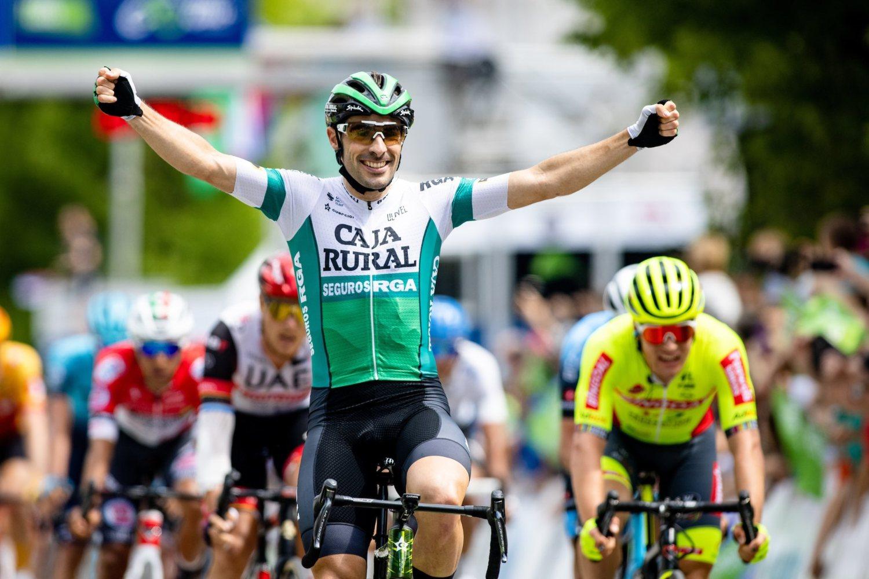 Jon Aberasturi ganó la tercera etapa del Tour de Eslovenia 2021 (Sportida).