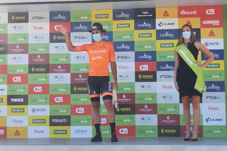 Juanjo Lobato ganó la primera etapa de la Vuelta al Alentejo 2021