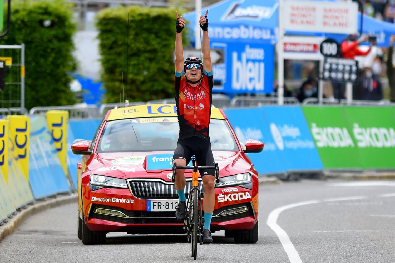 Mark Padun ganó la octava etapa del Critérium de Dauphiné 2021 (Bettini Photo).