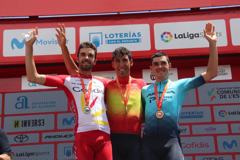 Omar Fraile ganó el Campeonato de España 2021 (RFEC).