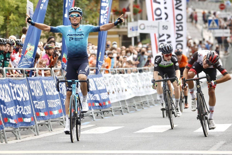 Luis León Sánchez ganó la Clásica de Ordizia 2021 (Photo Gómez Sport).