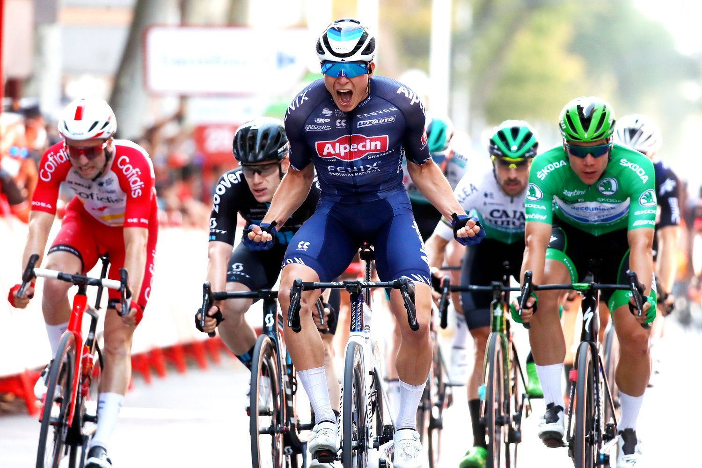 Jasper Philipsen ganó la quinta etapa de la Vuelta a España 2021 (Photo Gomez Sport).